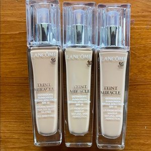 Lancôme Teint Miracle Foundation (many shades)